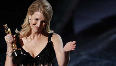 Laura Dern, Brad Pitt win first acting...