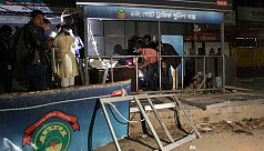 Blast outside Ctg police box suspected to be sabotage