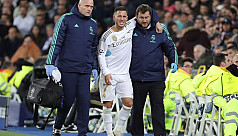 Zidane admits Hazard injury doesn't look good ahead of City test