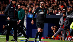 Liverpool captain Henderson out for three weeks with hamstring injury
