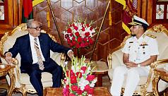 President for utilizing Maldives's tourism...