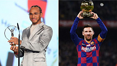 Hamilton, Messi joint winners of Laureus...