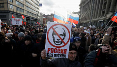 Opposition urges 'Russia without Putin'...