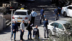 Israeli troops hurt in Jerusalem ramming