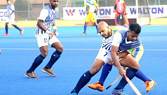 Navy, Army win in Bangabandhu Shaheed Smriti Hockey