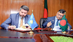 Bangladesh, Kosovo sign MoU on regular...