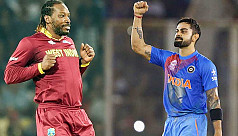 Kohli, Gayle to play in Asia XI-World XI T20Is in Dhaka