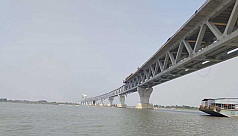 Bridge of dreams: 3.6km now visible after installation of 24th span