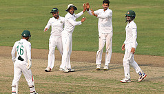 Nayeem leads spin attack in Shakib's absence