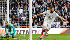 Benzema strike gives Real derby win over Atletico