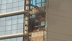Fire breaks out at a Paltan's DR tower