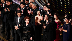 'Parasite' makes Oscars history with stunning best picture win