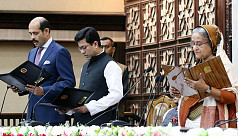 Taposh, Atiqul take oath as DSCC, DNCC...