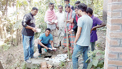 Expired medicines recovered from septic tank