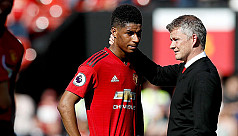 Solskjaer: Injured Rashford a doubt for Euro 2020