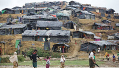 Home minister: Barbed wire fencing underway around Rohingya camps