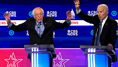 Sanders roughed up early at Democratic presidential debate