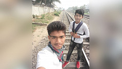 Schoolboy killed in train accident while...