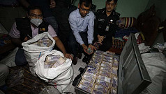 Tk26.55cr cash, Tk5cr FDR seized from ex-AL leaders' house