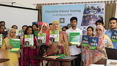 Agami Education Foundation organizes interactive science training