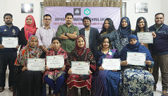 Teacher's training on using Khan Academy Bangla in Grade III classroom held