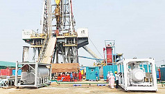 Extraction starts from new gas well...