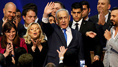 Netanyahu leads in Israeli election, still lacks majority