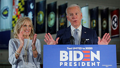 Biden calls for unity after big primary...