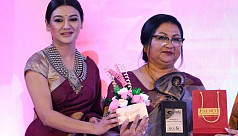 Jaya Ahsan's mother receives the 'Ratnagarbha' award