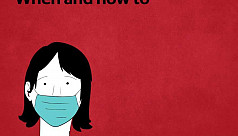 When and how to wear a mask to prevent...