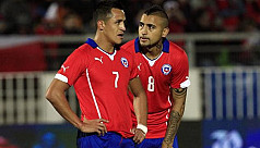 Chile to quarantine Sanchez, Vidal