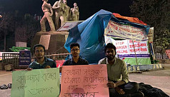 3 DU students on hunger strike demand...