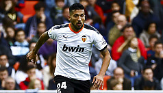 Valencia's Garay first La Liga player...