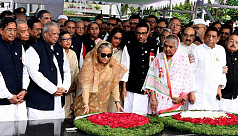 Mujib Year celebration: PM pays homage to Bangabandhu at Dhanmondi