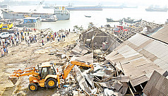 Illegal land grabbing spree choking Karnaphuli River