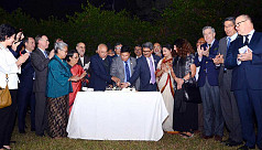 Foreign Ministry celebrates beginning of Mujib Year