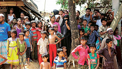 5,000 Rohingyas under lockdown after...