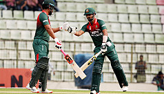 Liton, Tamim wreak havoc on...