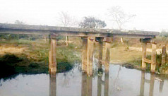 Broken bridge causes commuting hardships in Moulvibazar