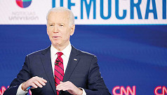 Biden quietly leads over Trump, with 2020 race all but halted over coronavirus