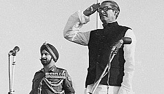 Mujib's challenge was the road to...