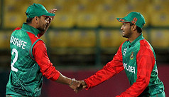 Shakib: Mashrafe encouraged us to play...