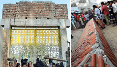 Four killed as college gate collapses in Sirajganj