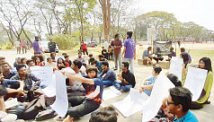 SUST students go on hunger strike