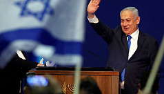 Indicted Netanyahu claims victory in...