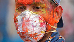 In pictures: Holi celebrated with face...