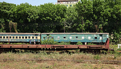 In pictures: Empty train bogies at Kamalapur...