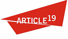 ARTICLE 19: Alarming crackdown on freedom...
