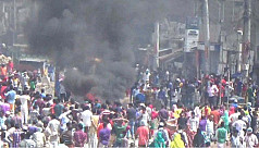 RMG workers' protests turn violent in...