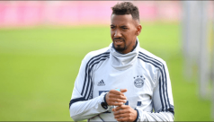 Boateng fined for leaving Munich